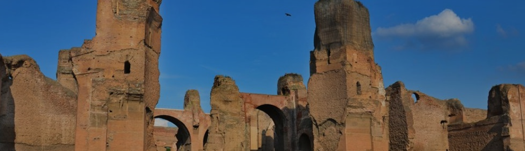 Visite guidate con archeologo alle terme di Caracalla a Roma, organizzate gratis dalla associazione Roma Bella