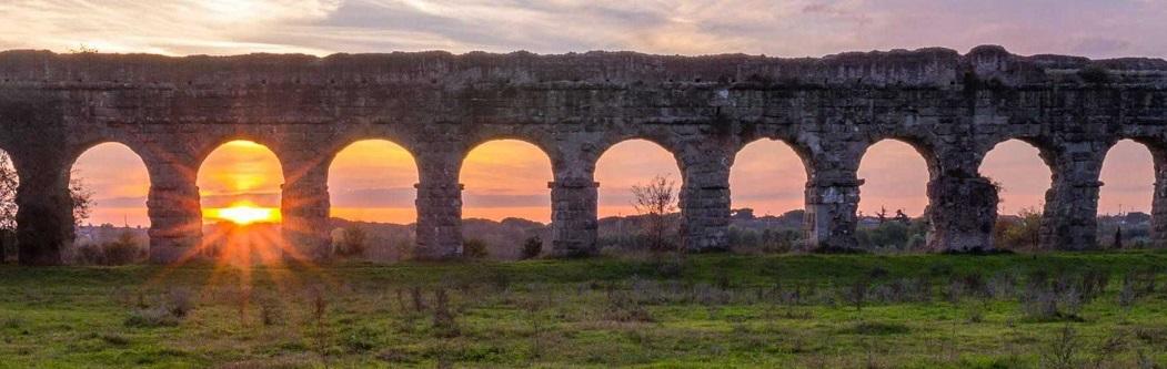 Visite guidate gratuite a Roma, al parco archeologico degli acquedotti di Roma antica sull'Appia